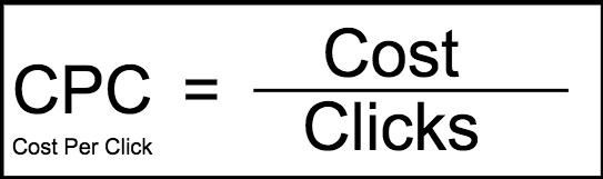 Cost per click calculation